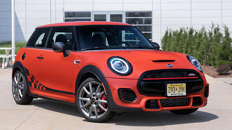 2019 Mini John Cooper Works Hardtop International Orange Edition is very bright, expensive, verbose