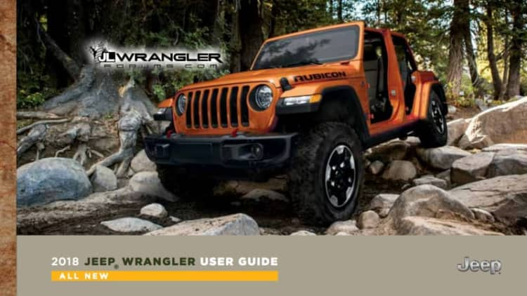 2018 Jeep Wrangler owner's manuals leaked, and they tell us much — but not all