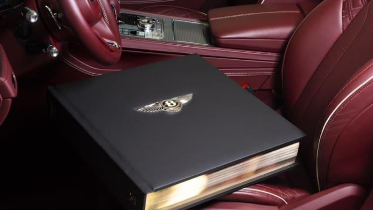 Bentley recaps its 100 years in a $250k book