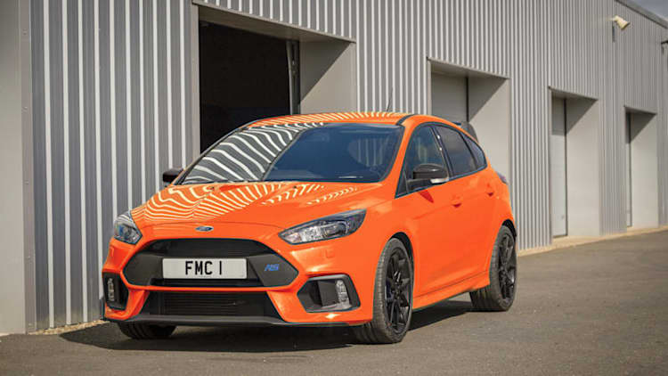 Ford Focus RS production ends April 6, going out with Heritage Edition