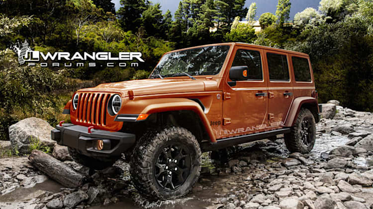 Here's another look at the next-gen Jeep Wrangler Unlimited