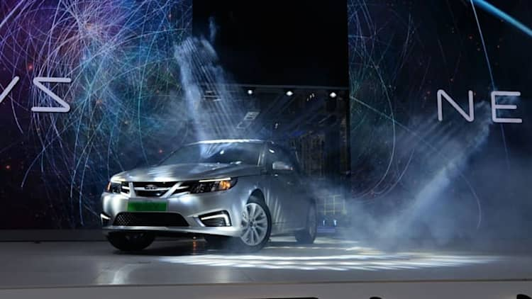 Saab is reborn! ... sort of: NEVS launches production of 9-3 EV