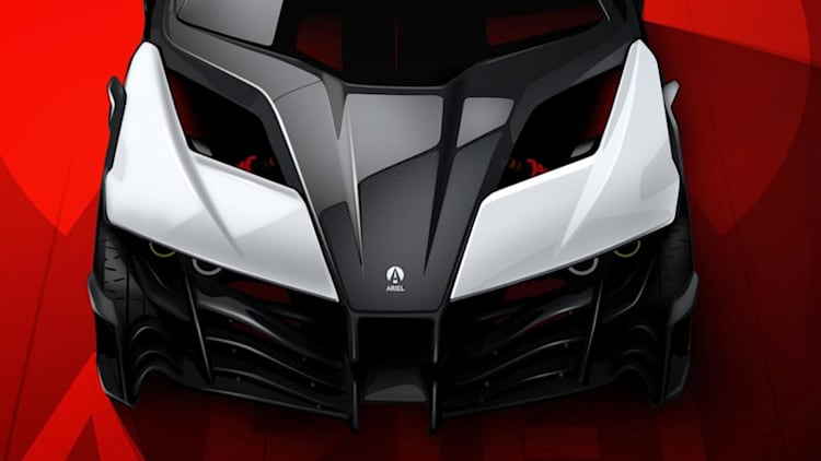1180-hp Ariel electric sports car is real, goes on sale in 2020
