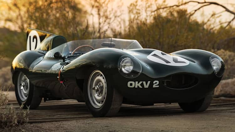 This Jaguar D-Type is what you should spend your multimillion-dollar holiday bonus on