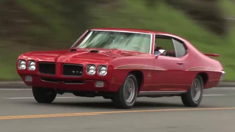 Jay Leno tries out a 1970 Pontiac GTO Judge that looks factory fresh