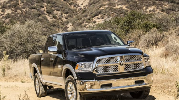 Fiat Chrysler recalls 1.4M Ram pickups: Tailgates could open