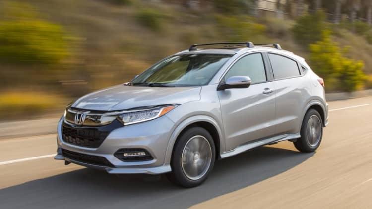 2019 Honda HR-V earns IIHS Top Safety Pick