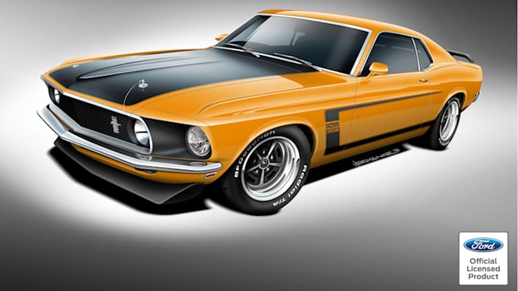 New '69-70 Ford Mustang Boss 302, Boss 429 and Mach 1 available soon