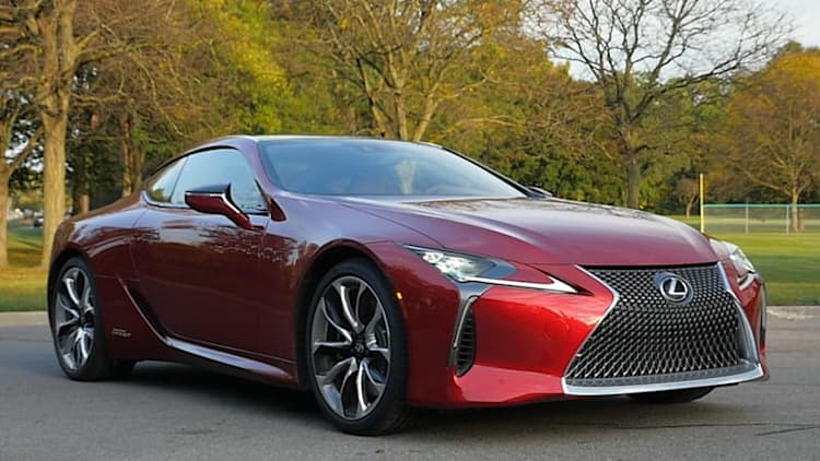 Lexus LC 500h | Autoblog's 2018 Technology of the Year winner