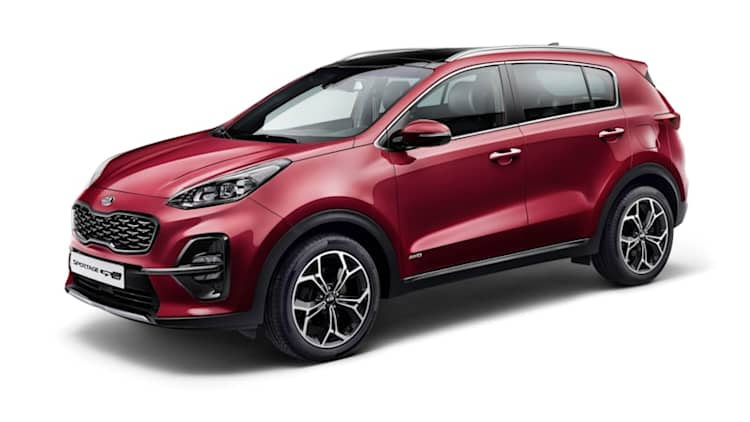 Kia unveils refreshed 2019 Sportage small crossover