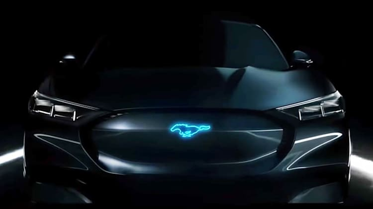 Could this be the Ford Mustang Hybrid?