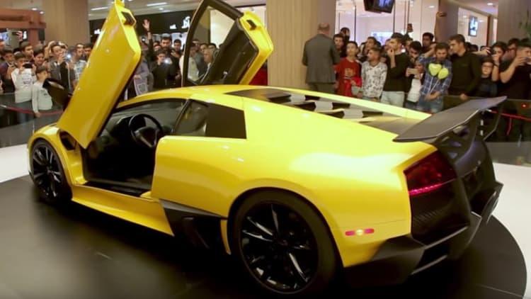 Lamborghini Murcielago SV reverse-engineered by a team from Iran