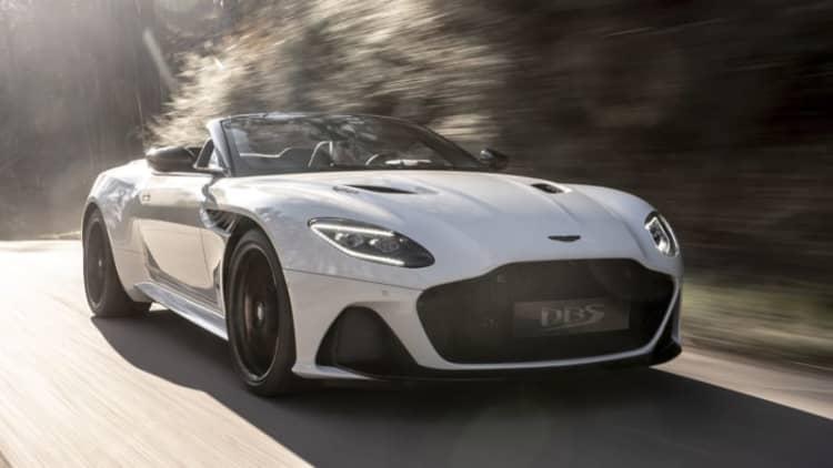 Aston Martin DBS Superleggera Volante is coming soon for $329,100