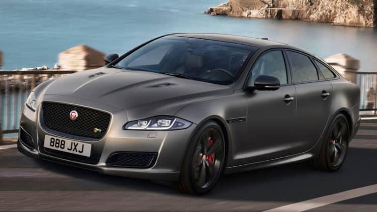 Jaguar's latest beast is the 2018 XJR575