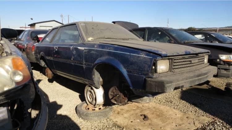 Junkyard Gem: 1983 Toyota Corolla Liftback Coupe
