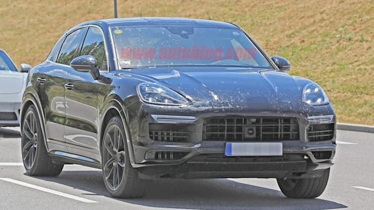 Porsche Cayenne gets in on SUV coupe bandwagon