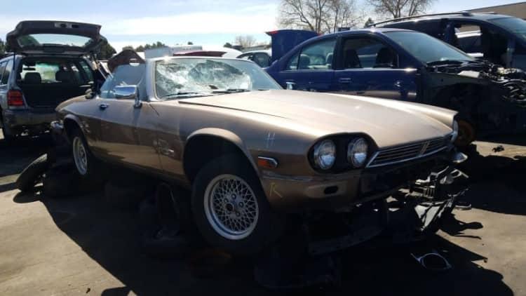 Junkyard Gem: 1990 Jaguar XJ-S Convertible