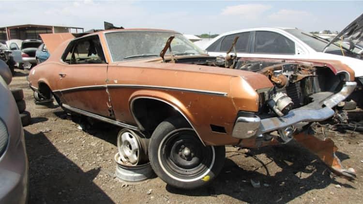 Junkyard Gem: 1970 Mercury Cougar