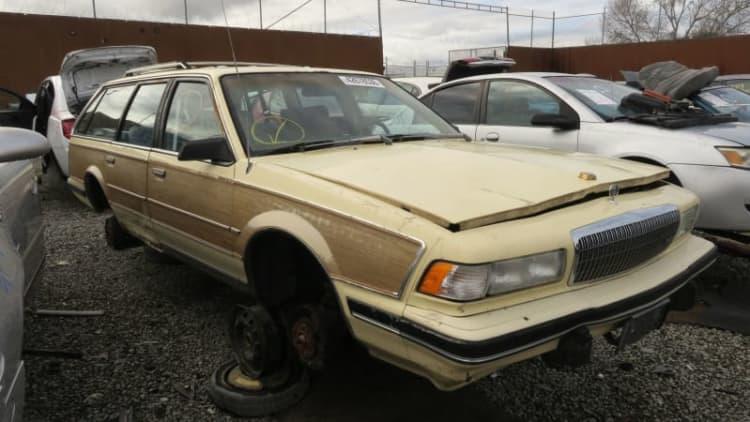 Junkyard Gem: 1992 Buick Century Woodie station wagon