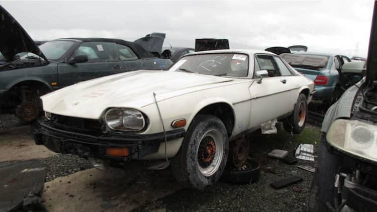 Junkyard Gem: 1977 Jaguar XJ-S
