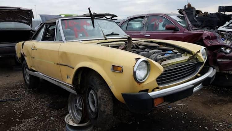 Junkyard Gem: 1977 Fiat 124 Sport Spider