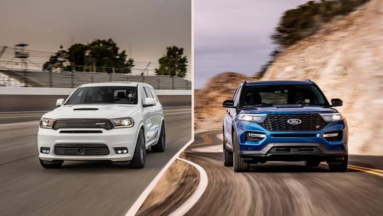 2020 Ford Explorer ST vs 2019 Dodge Durango SRT: How they compare on paper