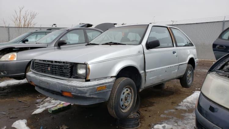 Junkyard Gem: 1986 Isuzu I-Mark Hatchback