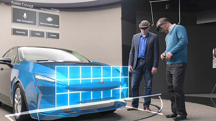 HoloLens is helping Ford designers prototype cars faster