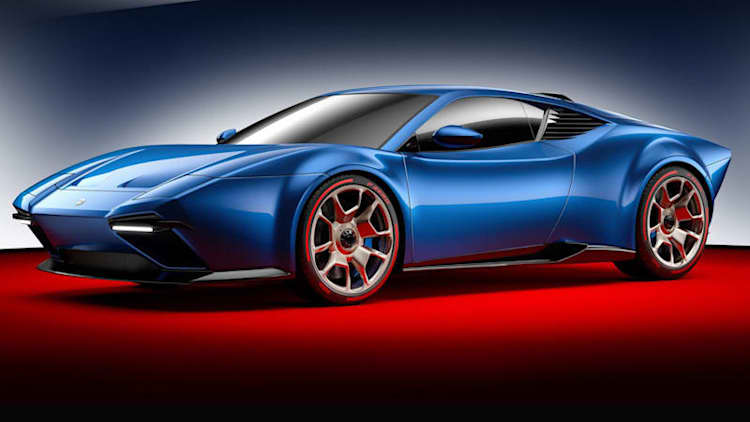 Ares Project Panther is a Lamborghini Huracan in DeTomaso Pantera's clothing