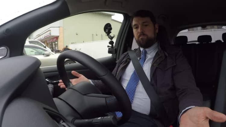 Nissan Leaf ProPilot Park test | Autoblog in Japan