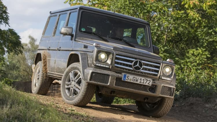 2016 Mercedes-Benz G550 Quick Spin [w/video]