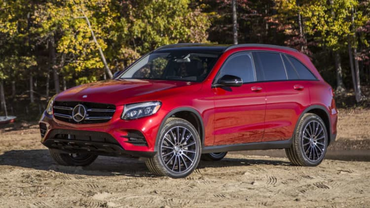 2018 Mercedes-Benz GLC-Class earns top IIHS safety rating