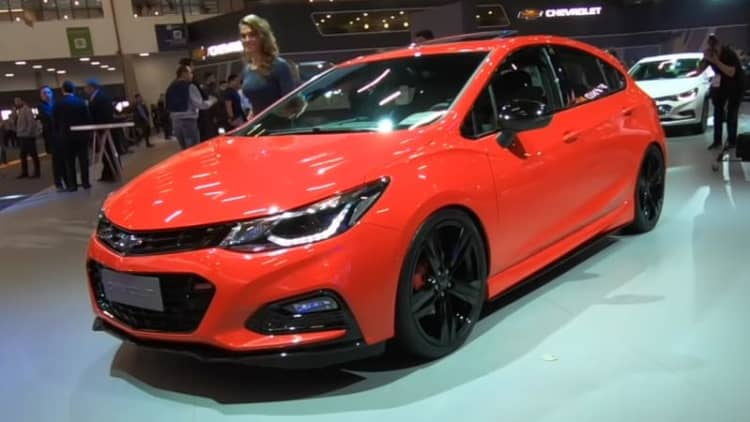 Chevy Cruze SS is a nearly 300-hp Brazilian Cruze missile
