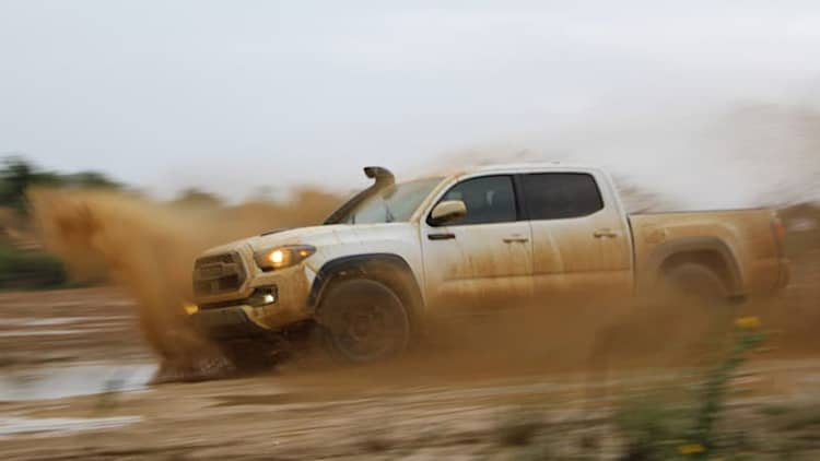 2019 Toyota TRD Pro Trucks Off-Road Quick Spin | Getting muddy in Texas