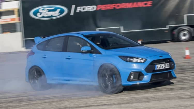 2016 Ford Focus RS First Drive