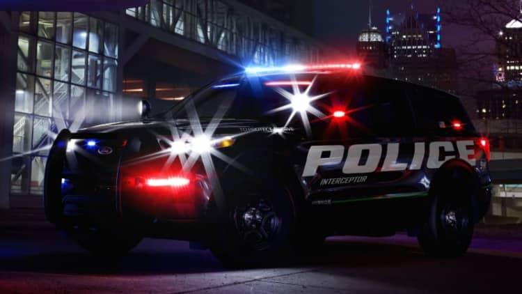 2020 Ford Explorer-based Police Interceptor Utility gets hybrid version
