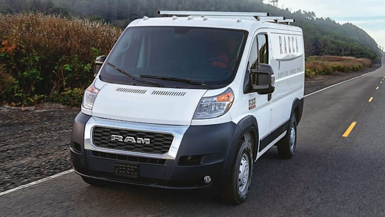 2019 Ram ProMaster, ProMaster City vans lose the crosshair grille