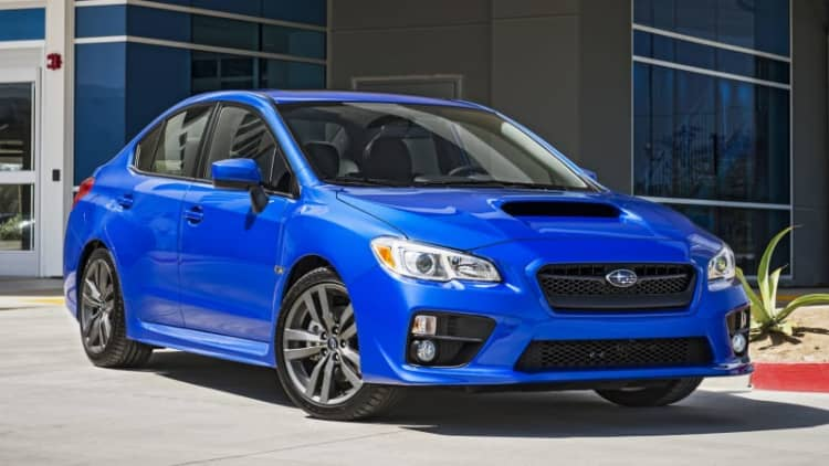 Subaru recalling 72k EyeSight-equipped sedans and CUVs