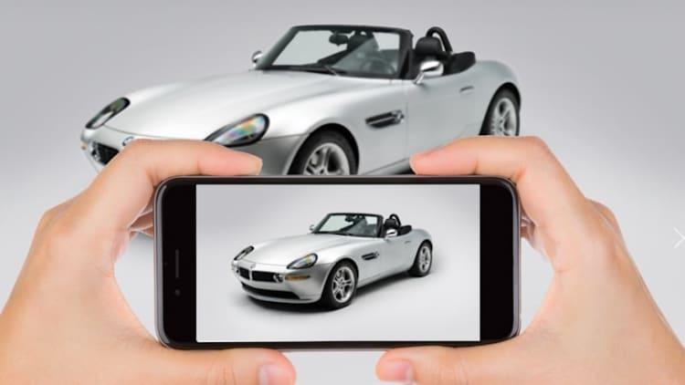 It was Steve Jobs'. It's sleek, silver, for sale: But Apple didn't make it, BMW did