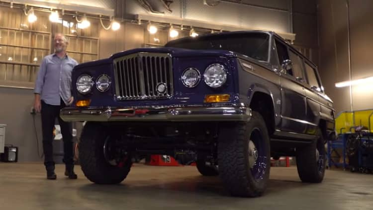Tour the Jeep Wagoneer Icon Reformer with its creator Jonathan Ward