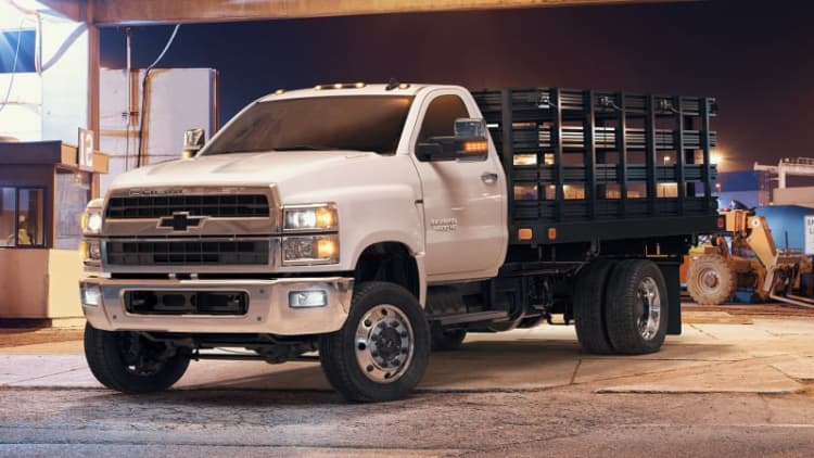 2019 Chevrolet Silverado 4500HD chassis cab priced from $48,465
