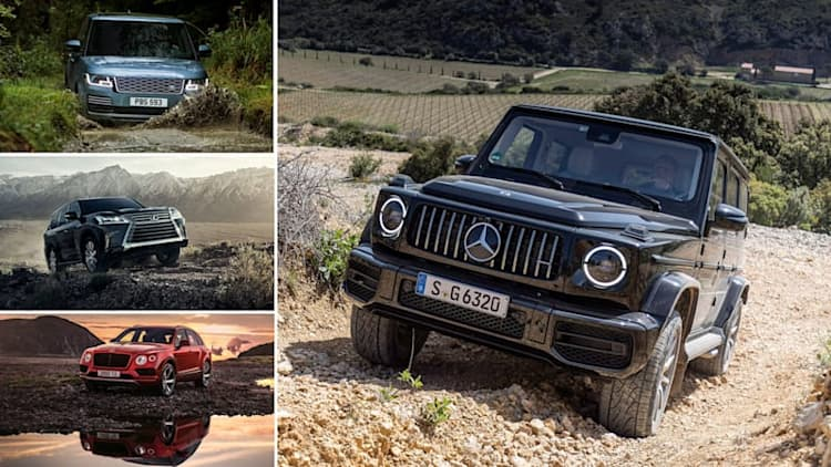 2019 Mercedes-Benz G-Class vs big luxury off-roaders: How they compare on paper