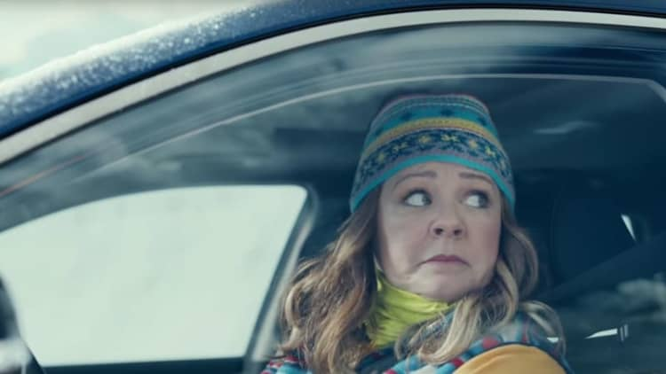 Kia's Super Bowl ads all seem to put Melissa McCarthy and the Kia Niro in peril