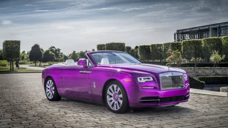 Michael Fux sure likes fuchsia — now there's a 'Fuxia' Rolls-Royce