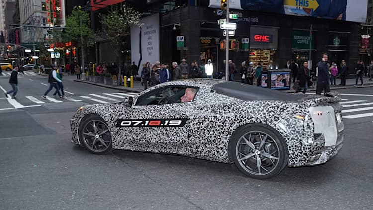 Chevrolet offers clues about the new C8 Corvette in new video