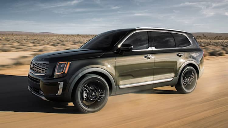 Kia Telluride SUV rated at up to 23 mpg combined