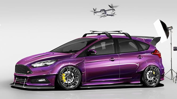 Four takes on the Focus ST and RS will appear at SEMA this year