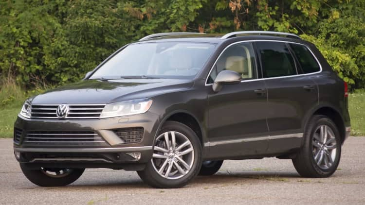 Volkswagen Touareg is killed off in the US