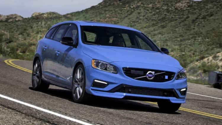 2018 Volvo V60 Polestar Drivers' Notes Review | Going out with a bang