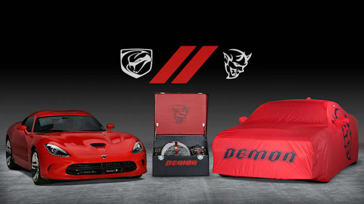 Final Dodge Demon and Dodge Viper to be auctioned off for charity